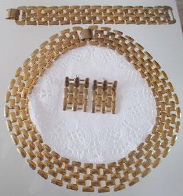 Set: Kette, Armband und Ohrstecker