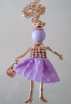 Valentina-Kette lila