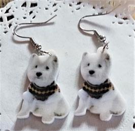 Hunde-Ohrringe