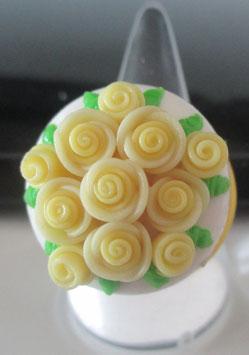 Gelber Torten-Ring