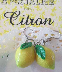 Zitronen-Ohrringe