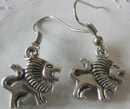 Löwen-Ohrringe