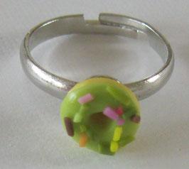 Grüner Donut-Ring
