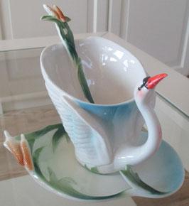 Tassen-Set Schwan