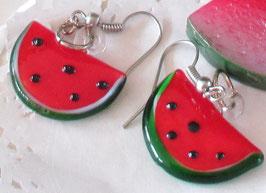 Melonen-Ohrringe