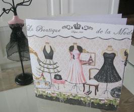"""Karte """"La Boutique"""""""