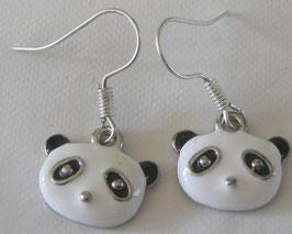 Panda-Ohrringe
