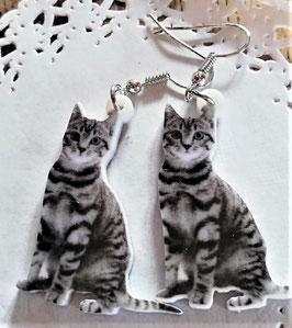 Katzen-Ohrringe