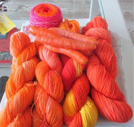 """""""Karotten""""-Wolle"""