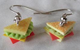 Toast-Ohrringe