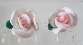 Hellrosa Blüten-Ohrringe
