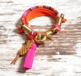 Armband ★Vagabond★ Pink Flamingo