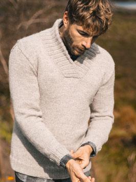 Strickset Schalkragen Pullover