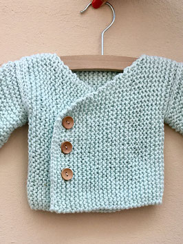 Strickset Purly Sue Babyjacke