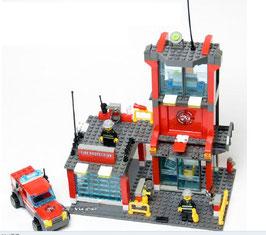 Kleine Feuerwehrstation