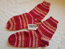 Bunte Socken aus Regiawolle verschiedene gr.
