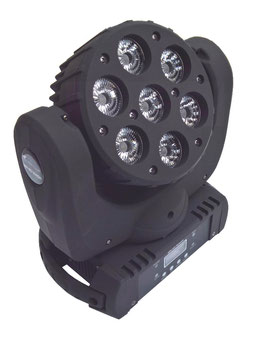 4x MH 110 7x10W LED Movinghead Wash
