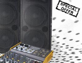 Tontechnik Set S