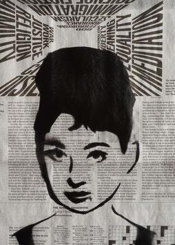 """""""Audrey Hepburn"""", 2018"""