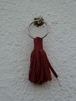 Porte clefs pompon