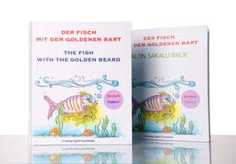 """Bilderbuch """"Der Fisch mit dem goldenen Bart"""""""