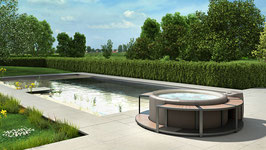 3SIGN Visualisierung Outdoor Vol 8 - Pool und Whirlpool