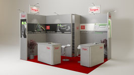 3SIGN Visualisierung Messestand Vol 1