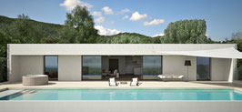 3SIGN Visualisierung Outdoor Vol 7 - Pool und Whirlpool