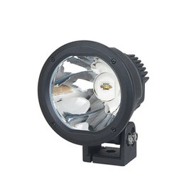 """7"""" 50W Cannon Light with Amber Cover Cree LED"""