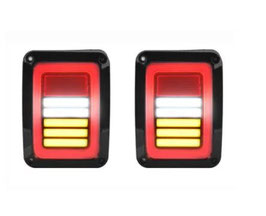 Jeep Wrangler Rear Replacement Tail Lights LT6