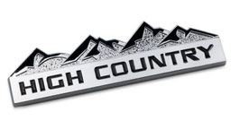 Jeep High Country Badge