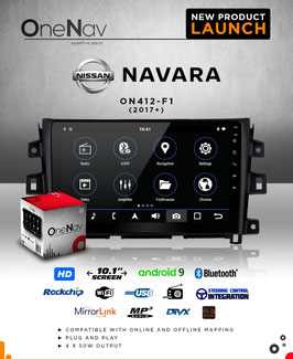 OneNav Android 9 Radio for Nissan Navara