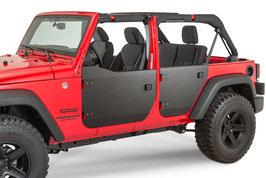 Jeep JK Aluminium FRONT Half Doors
