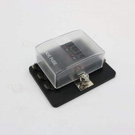 6 way fuse box with LED, 20A+15A*2+10A*2+5A