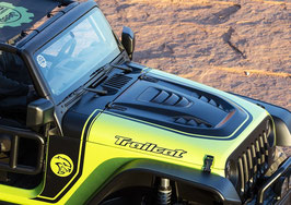 Jeep Wrangler Trailcat Bonnet