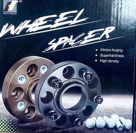 Ford Ranger Forged Wheel Spacer - 25mm Black