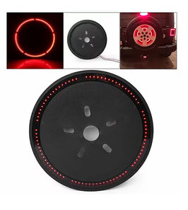 Jeep Spare Tire Brake Light - 85 Radiant Torch Red LEDs
