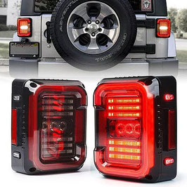 Jeep Wrangler Rear Replacement Tail Lights LT12