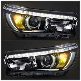 Toyota Hilux REVO Headlight with DRL