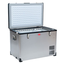 BD/C-60Stainless Steel Fridge/Freezer