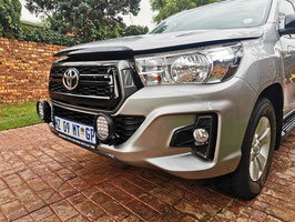 Toyota Hilux Dakar spot light bracket.