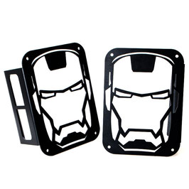 Jeep Iron Man Tail Light Protection