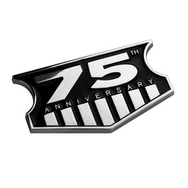 Jeep 75th Anniversary Metal Badge