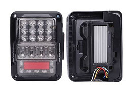 Jeep Wrangler Rear Replacement Tail Lights LT9