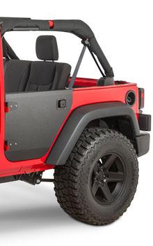 Jeep JK Aluminium REAR Half Doors
