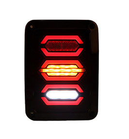 Jeep Wrangler Rear Replacement Tail Lights LT4