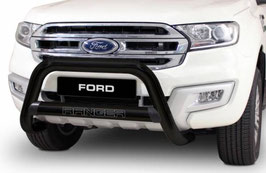 Ford Ranger Black Nudge Bars