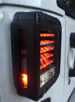 Jeep Wrangler Rear Replacement Tail Lights LT3