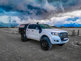 Ford Ranger T7 D/C Adventure Tray incl Dropsides