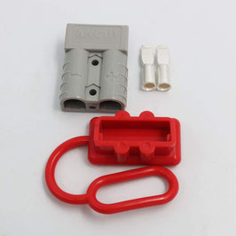 50A anderson plug, with 2pcs of terminals, and red cap